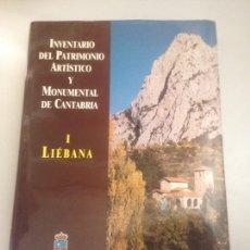 Libros: CANTABRIA . INVENTARIO DEL PATRIMONIO ARTÍSTICO Y MONUMENTAL DE CANTABRIA 1 LIÉBANA 1989. Lote 178815223