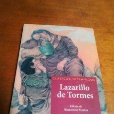 Libros: LIBRO LAZARILLO DE TORMES. Lote 179232902