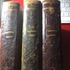 Libros: CRISTÒBAL COLÒN DESCUBRIMIENTODE LAS AMÉRICAS 1867. Lote 179254552