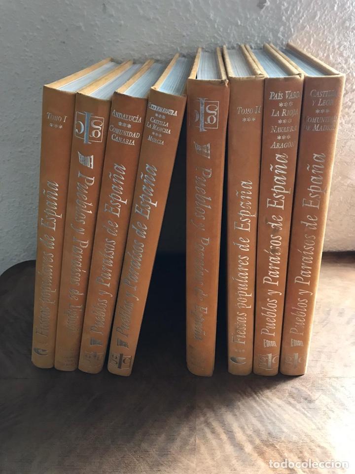 Libros: Pueblos y paraísos de España - Foto 2 - 180330972