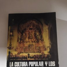 Libros: LA CULTURA POPULAR Y LOS FESTIVALES DE ESPAÑA 1965. Lote 180507713