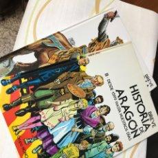 Libros: BREVE HISTORIA DE ARAGON. 2 TOMOS. DESDE LAS ALTERACIONES DE 1591. DESDE 1599 HASTA NUESTROS. Lote 181124783