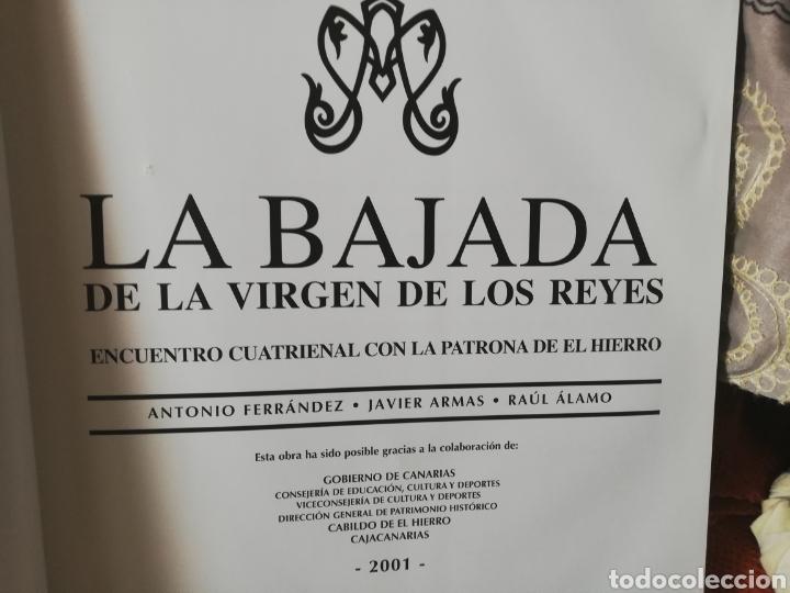 Libros: Libro dedicado a la bajada Virgen de los Reyes de la isla del Hierro... Tenerife - Foto 2 - 182597226