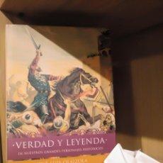 Libros: VERDAD Y LEYENDA (DE NUESTROS GRANDES PERSONAJES HISTÓRICOS) - JOSÉ LUIS OLAIZOLA - TEMAS DE HOY. Lote 185706817