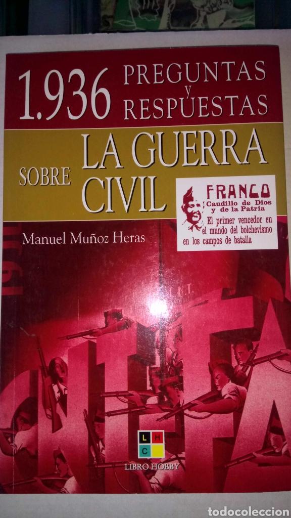 Libro 1936 Preguntas Y Respuestas Sobre La Guer