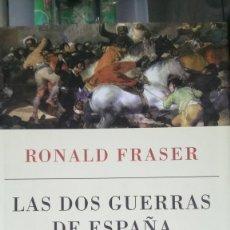 Libros: LIBRO LAS DOS GUERRAS DE ESPAÑA. RONALD FRASER. EDITORIAL CRÍTICA. AÑO 2012.. Lote 203748705