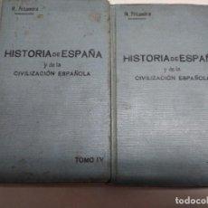 Libros: HISTORIA DE ESPAÑA Y DE LA CIVILIZACIÓN ESPAÑOLA. Lote 191203942