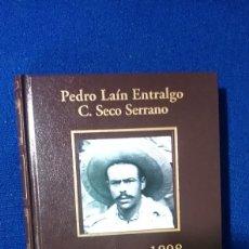 Libros: ESPAÑA EN 1898. PEDRO LAIN ENTRALGO Y C. SECO SERRANO. BIBLIOTECA HISTORIA DE ESPAÑA. 2005 RBA COLEC. Lote 192373262