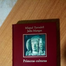 Libros: PRIMERAS CULTURAS E HISPANIA ROMANA. MIGUEL TARRADELL, JULIO MANGAS. BIBLIOTECA HISTORIA DE ESPAÑA.. Lote 192387803