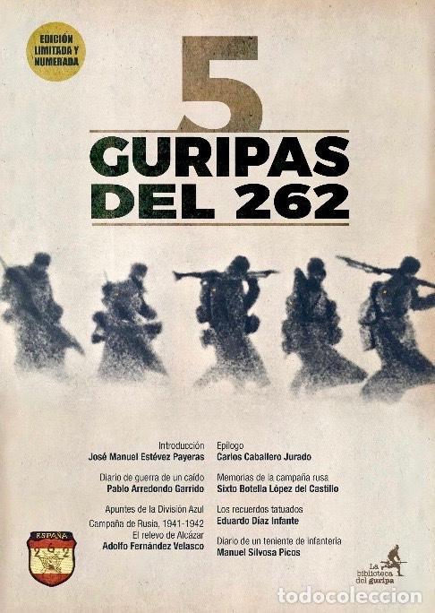 DIVISIÓN AZUL. 5 GURIPAS DEL 262. VARIOS AUTORES. CARLOS CABALLERO. JOSÉ MANUEL ESTÉVEZ PAYERAS. (Libros Nuevos - Historia - Historia de España)