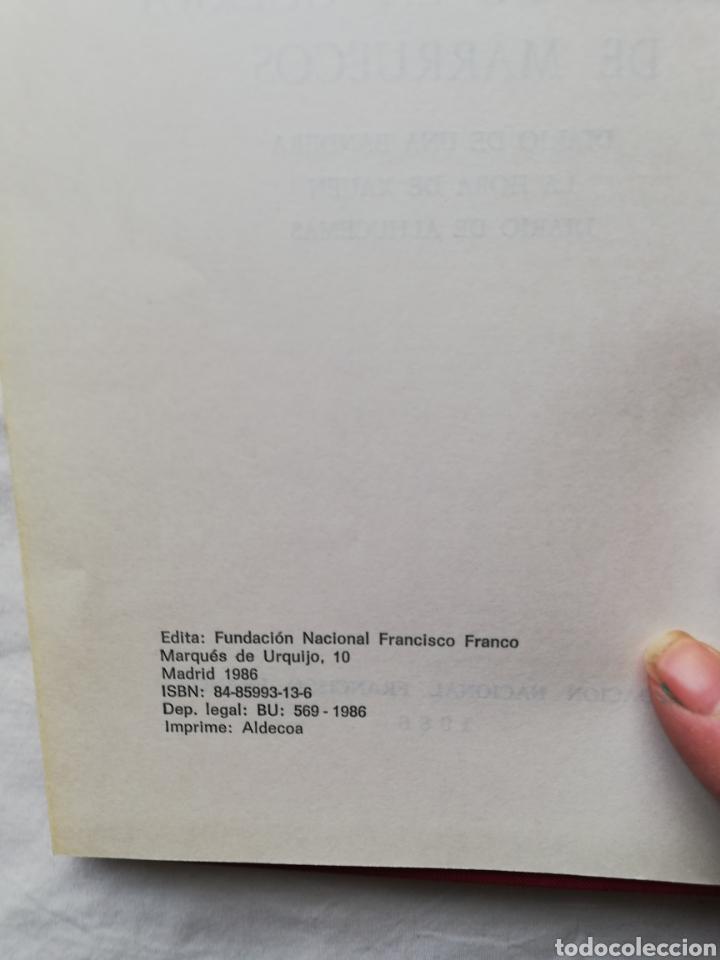 Libros: Francisco Franco Bahamonte, papeles de la guerra de Marruecos, Diario de una Bandera, La hora de Xah - Foto 6 - 194944270