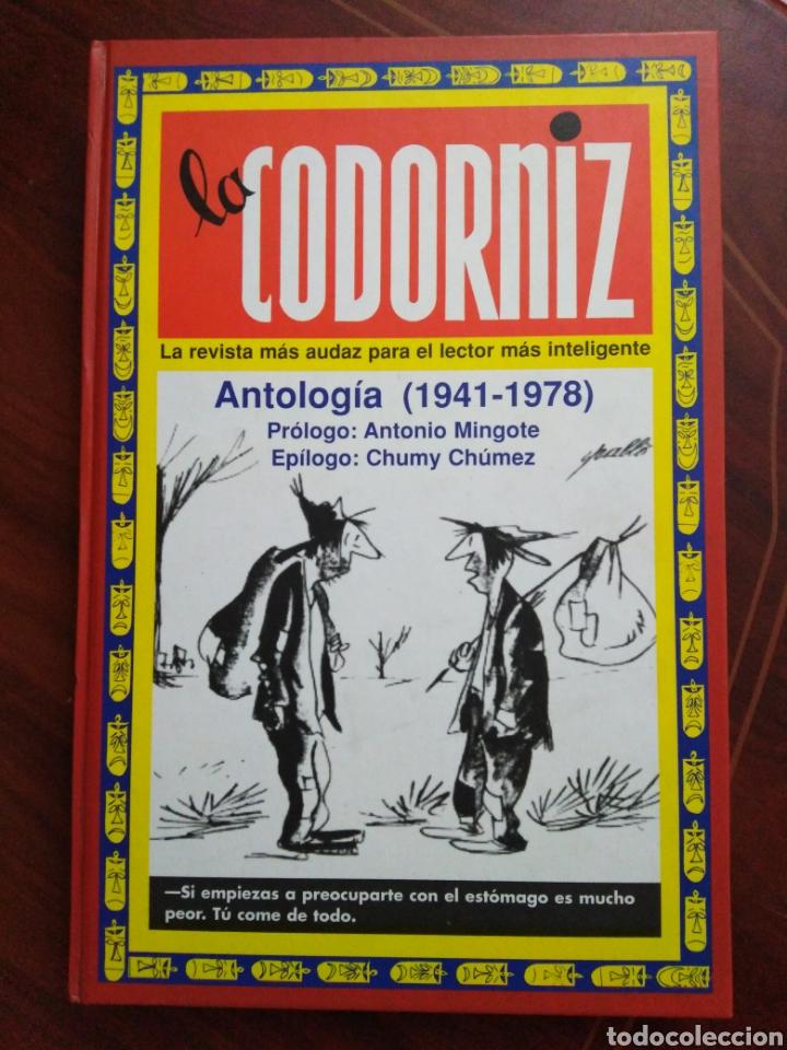 LA CODORNIZ ANTOLOGÍA 1941-1978 (Libros Nuevos - Historia - Historia de España)