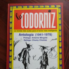 Libros: LA CODORNIZ ANTOLOGÍA 1941-1978. Lote 195149065