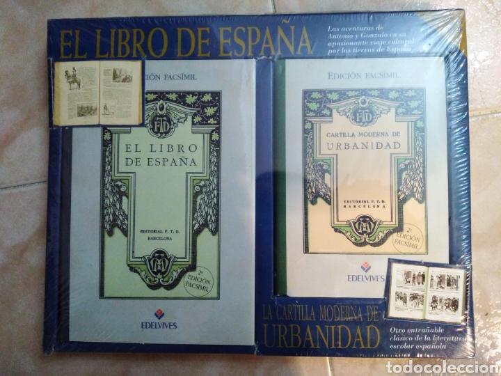 Libros: El libro de España ( edición facsímil ) nuevo a estrenar plastificado - Foto 2 - 196811595