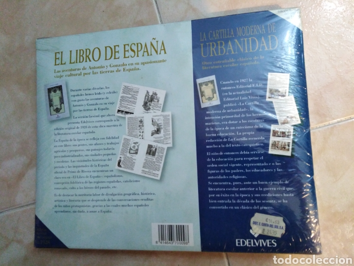 Libros: El libro de España ( edición facsímil ) nuevo a estrenar plastificado - Foto 3 - 196811595