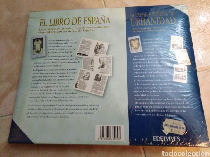 Libros: El libro de España ( edición facsímil ) nuevo a estrenar plastificado - Foto 4 - 196811595
