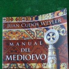 Libros: MANUAL DEL MEDIOEVO. Lote 196899611