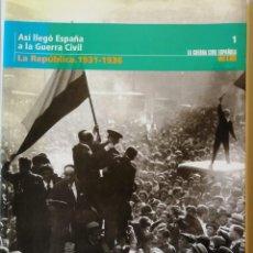 Libros: ASÍ LLEGO LA GUERRA CIVIL. LA REPÚBLICA. 1931-1936. Lote 198626777