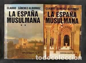 SANCHEZ ALBORNOZ CLAUDIO. SUS LIBROS (Libros Nuevos - Historia - Historia de España)