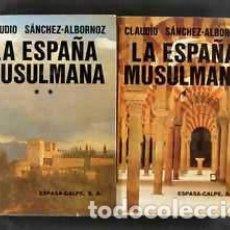 Libros: SANCHEZ ALBORNOZ CLAUDIO. SUS LIBROS. Lote 199104118