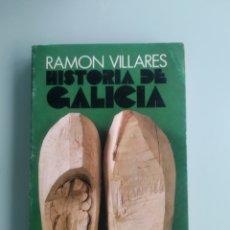 Libros: HISTORIA DE GALICIA - RAMÓN VILLARES (NUEVO). Lote 199826145