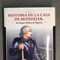 Libros: HISTORIA DE LA CASA DE MONDEJAR DE GASPAR IBÁÑEZ DE SEGOVIA, POR AURELIO GARCIA LOPEZ. Lote 201134113