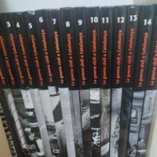 Libros: COLECCION LIBROS LA GUERRA CIVIL A CATALUNYA. Lote 202086021