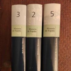 Libros: HISTORIA DE ESPAÑA VOLUMEN N 2,3,5. Lote 202485927