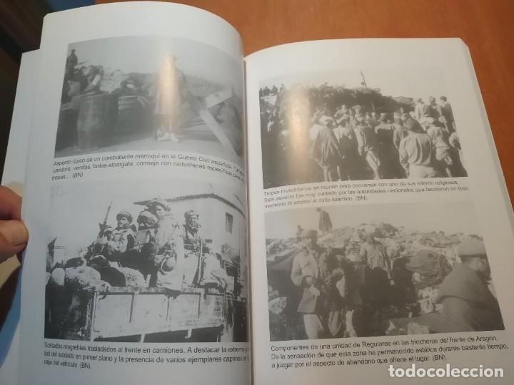 Libros: libro Las tropas Marroquies en la Guerra Civil Española - Foto 2 - 204158135