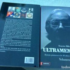 Libros: DOS LIBROS,OBRA COMPLETA,ULTRAMEMORIAS,MILA. Lote 206278676
