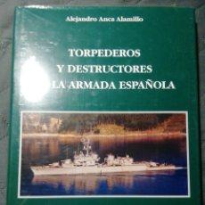 Libros: NUEVO EN EL PLÁSTICO! TORPEDOS Y DESTRUCTORES DE LA ARMADA ESPAÑOLA. Lote 206951895