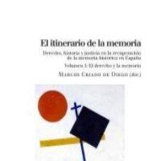 Libros: EL ITINERARIO DE LA MEMORIA VOLS I Y II. Lote 208471725