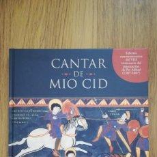 Libros: CANTAR DEL MIO CID (EDICION CONMEMORATIVA DEL VIII CENTENARIO DEL MANUSCRITO DE PER ABBAD. Lote 210367825