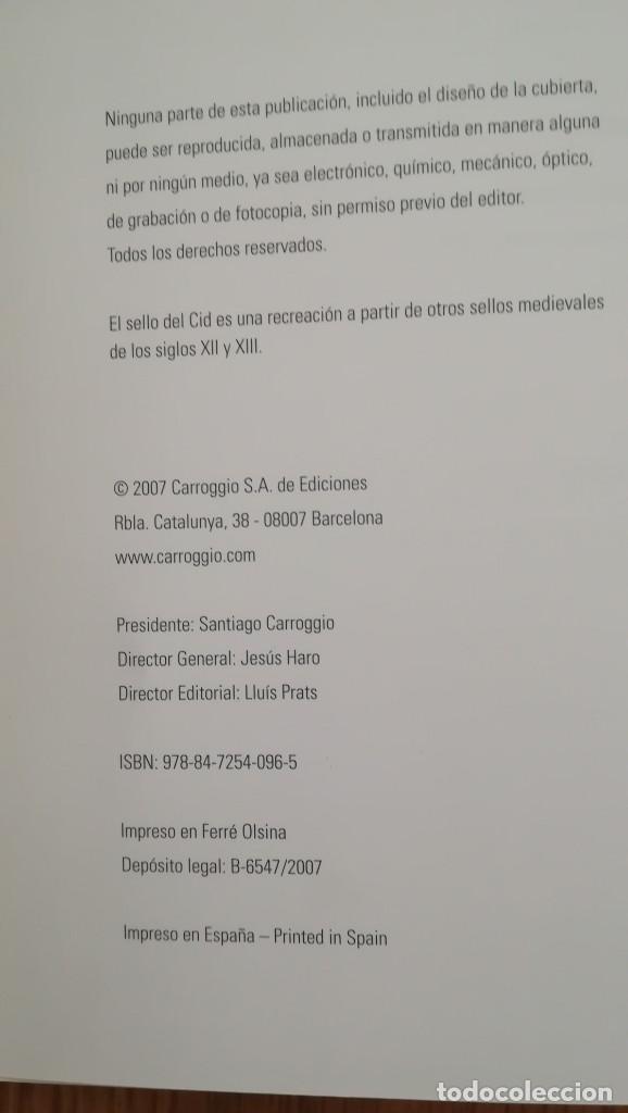 Libros: CANTAR DEL MIO CID (EDICION CONMEMORATIVA DEL VIII CENTENARIO DEL MANUSCRITO DE PER ABBAD - Foto 4 - 210367825