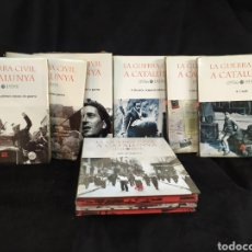 Libros: LA GUERRA CIVIL A CATALUNYA, EDICIONS 62. COMPLETO. 6 TOMOS Y 3 CARPETAS DE DVD. Lote 214709255
