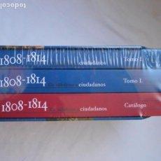 Libros: ESPAÑA 1808-1814 DE SÚBDITOS A CIUDADANOS. 3 TOMOS - V.V.A.A - NUEVO Y PRECINTADO. Lote 214802546