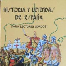 Libri: HISTORIA Y LEYENDAS DE ESPAÑA. NUEVO REF: AX730. Lote 215515028