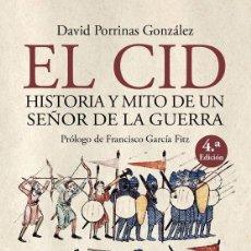 Libros: DAVID PORRINAS. EL CID .DESPERTA FERRO. Lote 288740103