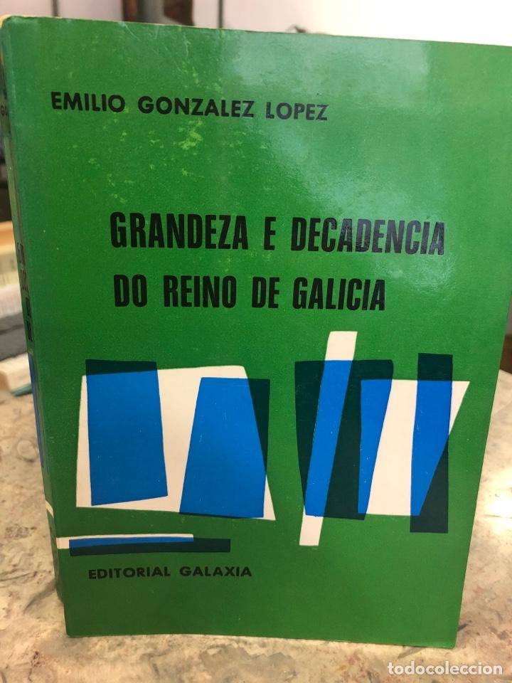 GRANDEZA E DECADENCIA DO REINO DE GALICIA (Libros Nuevos - Historia - Historia de España)