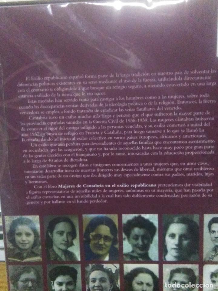 Libros: J.R.Saiz/Patricia Gomez.MUJERES DE CANTABRIA EN EL EXILIO REPUBLICANO.LIBRUCOS - Foto 2 - 236837040