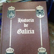 Livros: HISTORIA DE GALICIA XXV-BLASONES Y LINAJES DE GALICIA TOMO V-J.CRESPO SANTIAGO DEL POZO,1985,1°EDICI. Lote 218772671