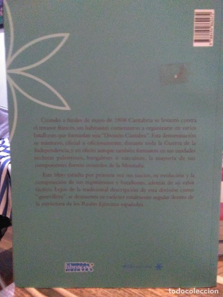 Libros: Rafael Palacio.La División Cántabra en la Guerra de.la Independencia(1808-1813).LIBRUCOS - Foto 2 - 219135531