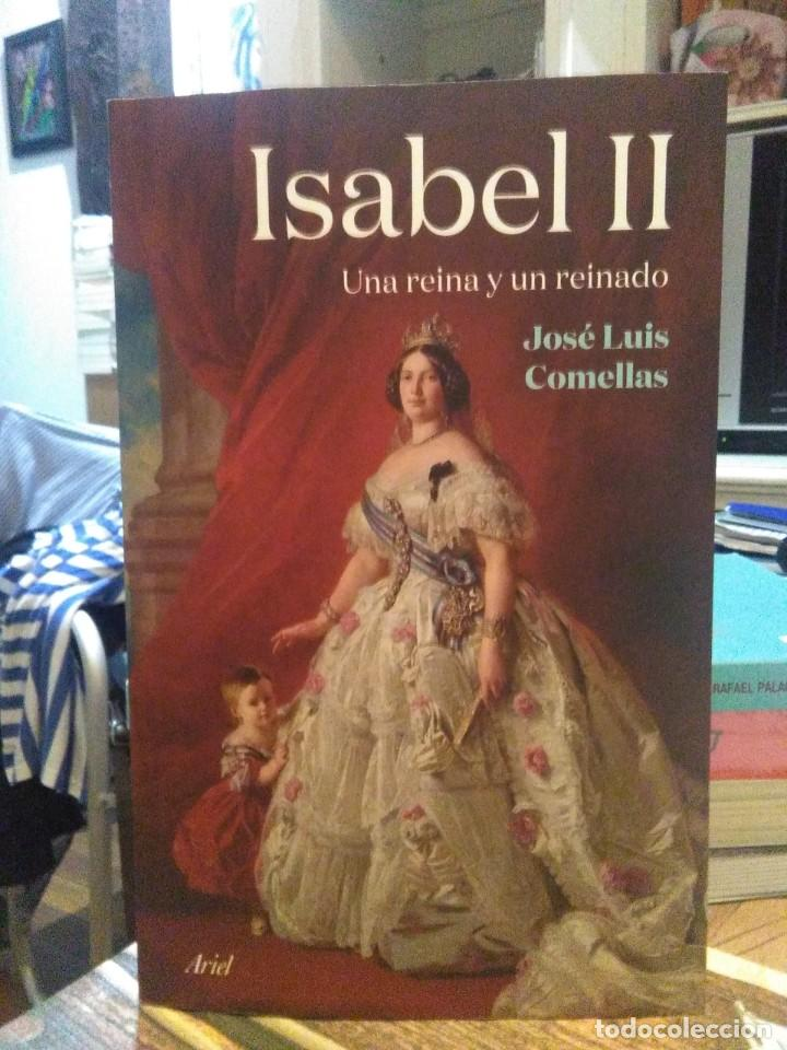 JOSE LUIS COMELLAS.ISABEL II(UNA REINA Y UN REINADO).ARIEL (Libros Nuevos - Historia - Historia de España)