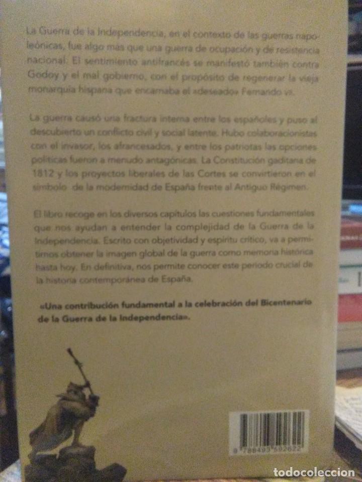 Libros: Antonio Moliner.La Guerra de la lndependencia en España(1808-1814).NABLA Ediciones - Foto 2 - 219136860