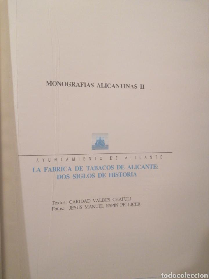 Libros: Monografias Alicantinas dos tomos 1990 - Foto 2 - 219583451