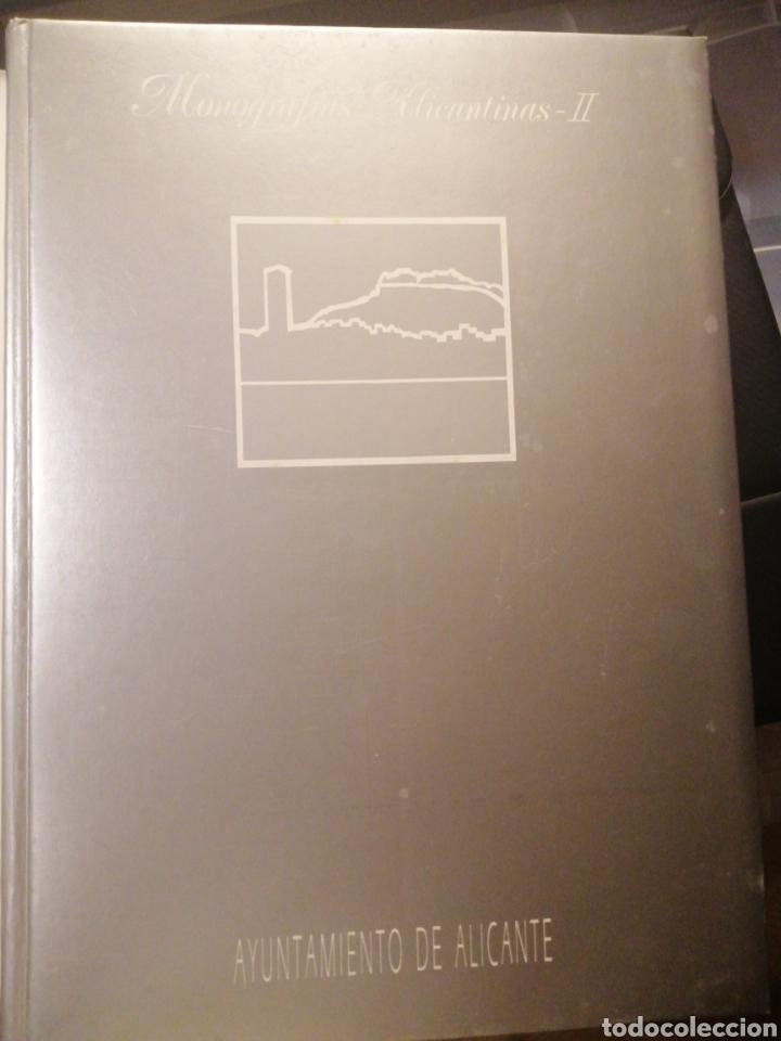 Libros: Monografias Alicantinas dos tomos 1990 - Foto 3 - 219583451