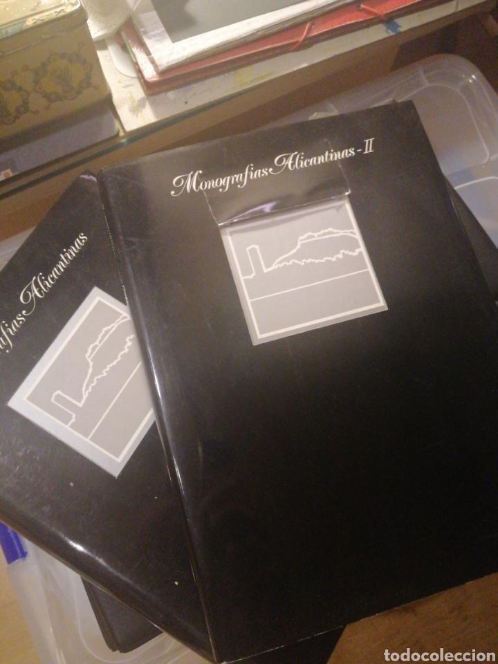 MONOGRAFIAS ALICANTINAS DOS TOMOS 1990 (Libros Nuevos - Historia - Historia de España)