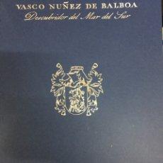 "Libros: CARTA MANUSCRITA DE VASCO NÚÑEZ AL REY FERNANDO ""EL CATÓLICO"" .. Lote 221709101"