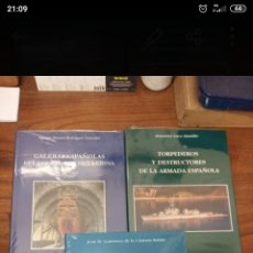 Libros: LOTE TRES LIBROS TEMÁTICA MILITAR. Lote 221826117