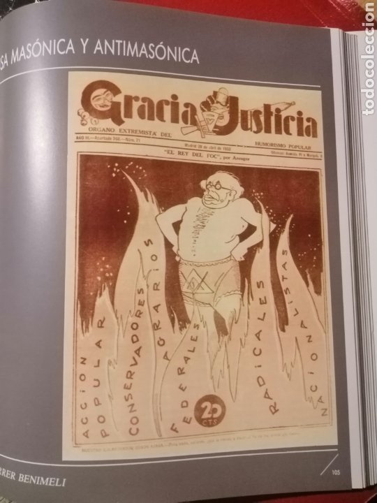 Libros: LA MASONERÍA ESPAÑOLA - ALICANTE LIBRO DE LA EXPOSICIÓN - Foto 3 - 222278541